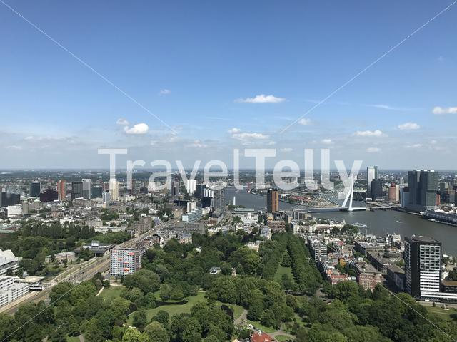 View of Rotterdam from the Euromast
