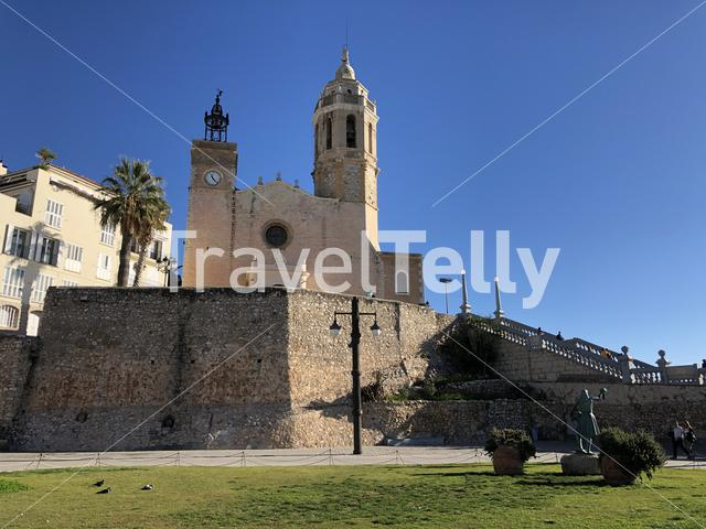 Church of Sant Bartomeu & Santa Tecla in Sitges, Spain