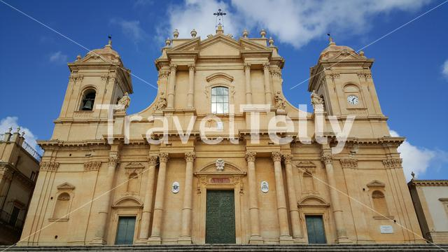 Cathedral of Noto in Italy