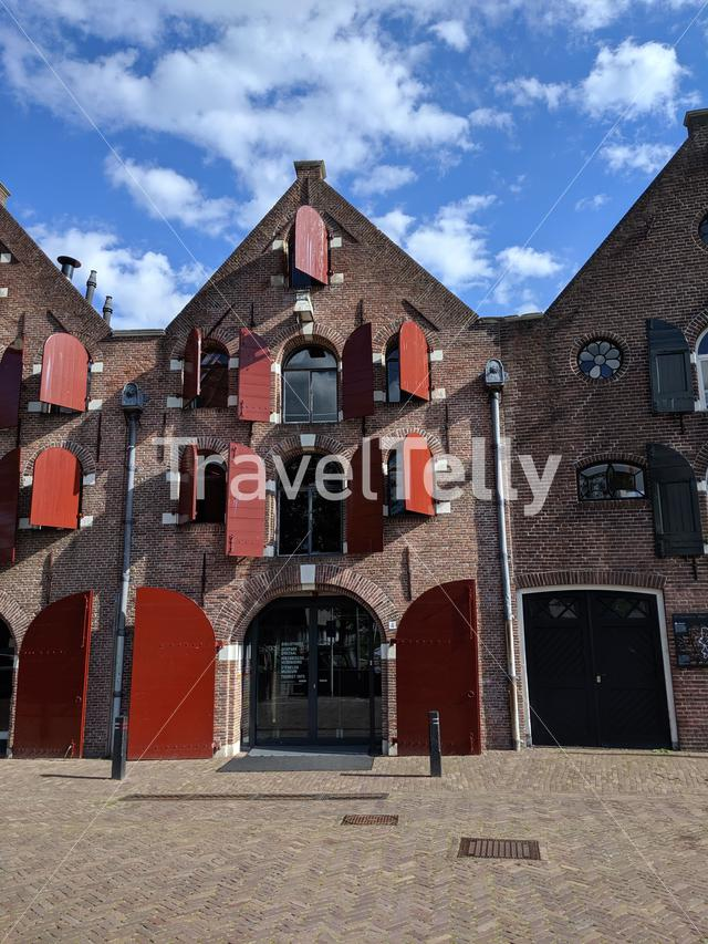 Historical building in Coevorden, The Netherlands
