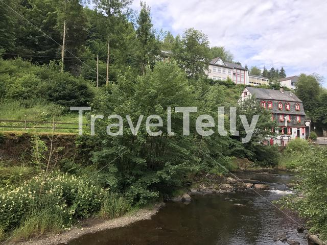 The town monschau in Germany