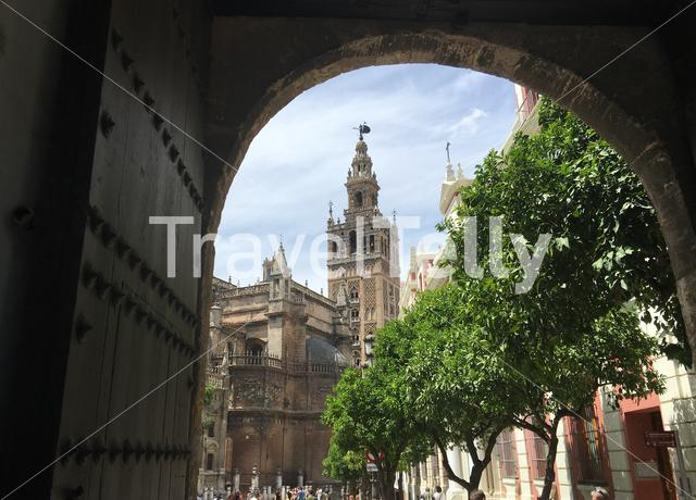 Catedral de Sevilla in Seville Spain