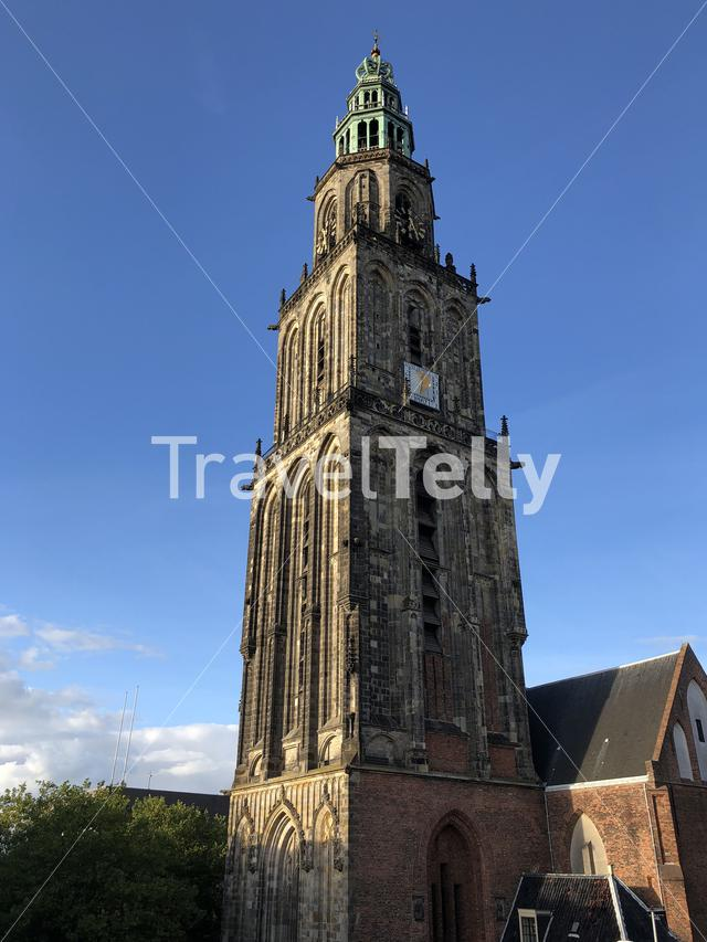 Martinitoren in Groningen The Netherlands