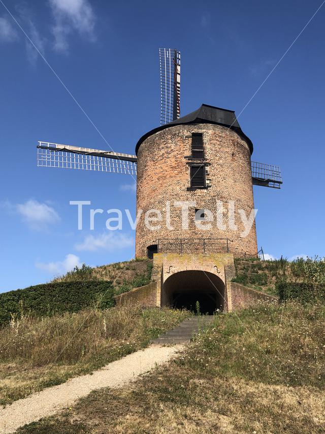 Windmill the Rosmolen in Zeddam, The Netherlands
