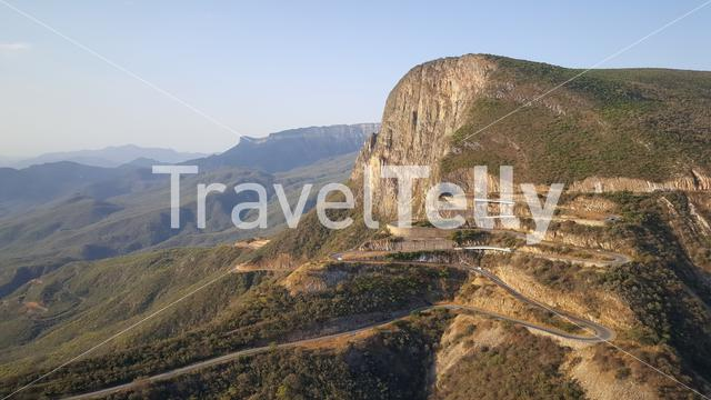 Viewpoint of the Serra da Leba in Angola