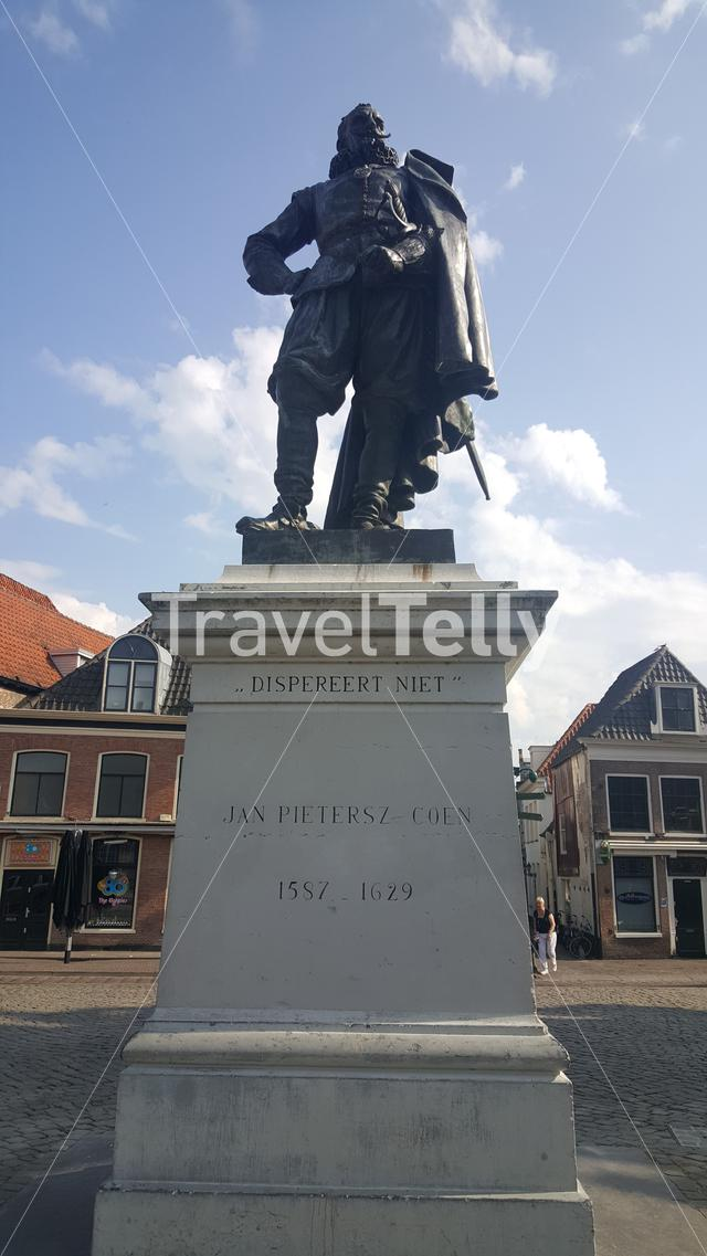 Statue of Jan Pietersz Coen in Hoorn