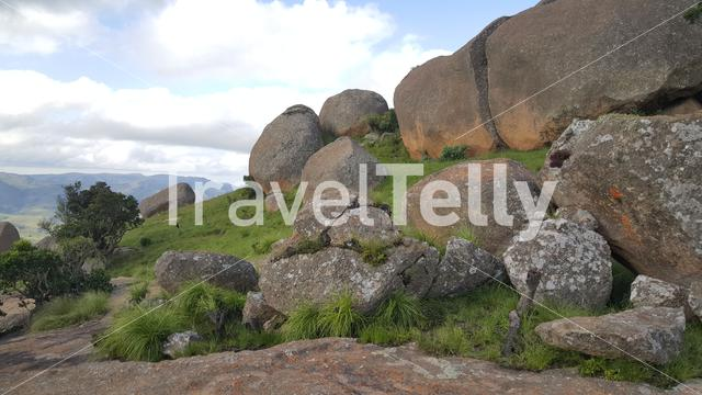 Scenery at Malolotja National Park a Nature preserve in Swaziland