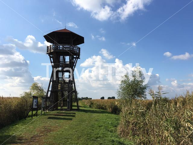 Watchtower in Hortobagy National Park Hungary