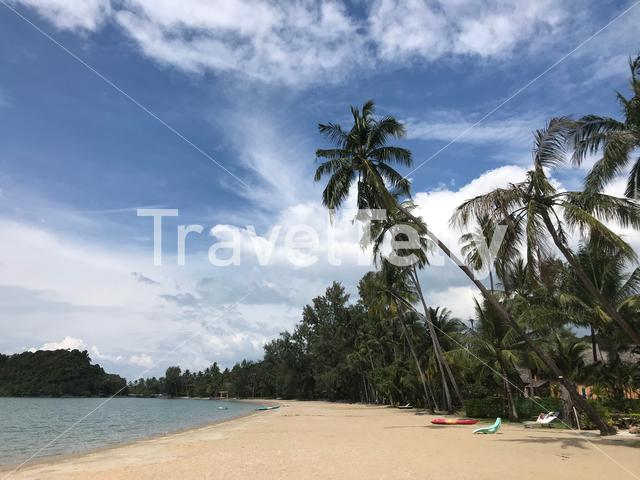 Chang Noi Beach at Koh Chang Thailand