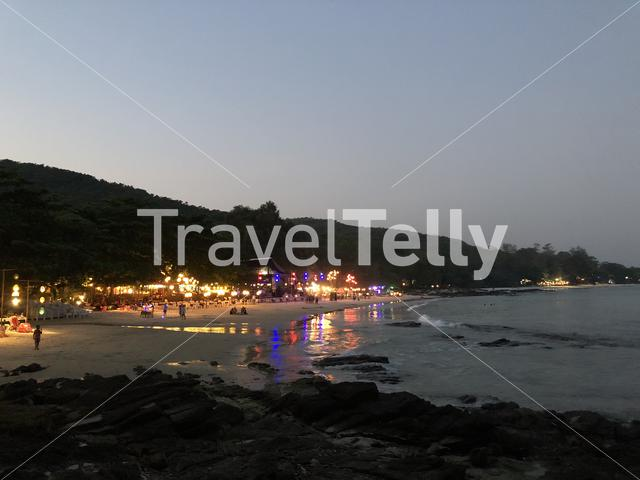 Koh Samed island at night