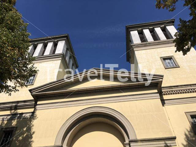St. Mary's Assumption church in Rees, Germany