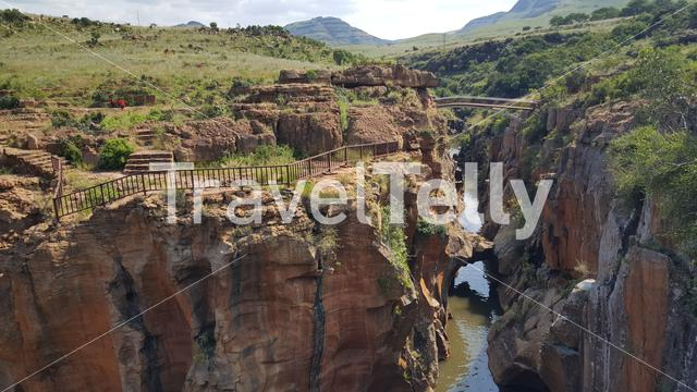 Bourke's Luck Potholes in South Africa