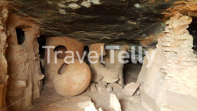 The Nok Caves in the north of Togo