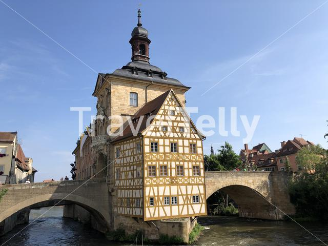 The Altes Rathaus in Bamberg Germany