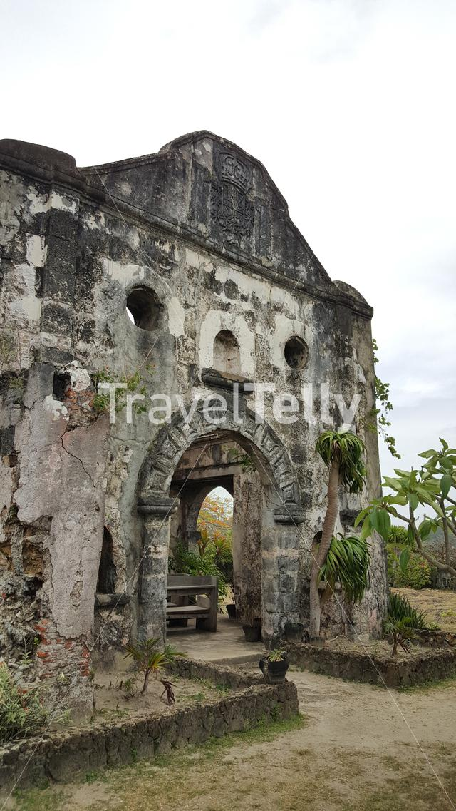 17th century Fort Santa Isabelle in TayTay, Philippines