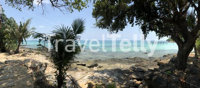Panorama from the coast in Koh Samed, Thailand