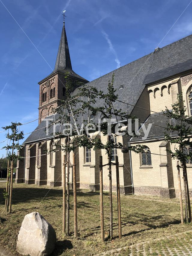 St. Johannes church in Bislich, Germany