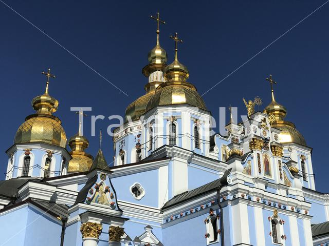 St. Michael's Golden-Domed Monastery in Kiev Ukraine