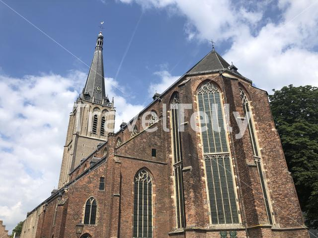 The big Martinichurch in Doesburg, The Netherlands