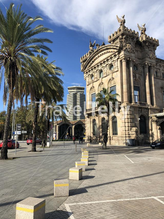 Architecture in Barcelona Spain