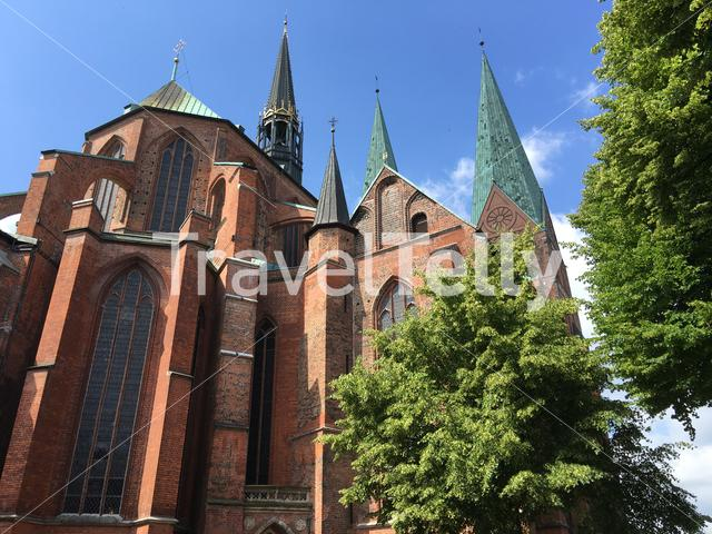 St. Mary's Church in Lübeck Germany