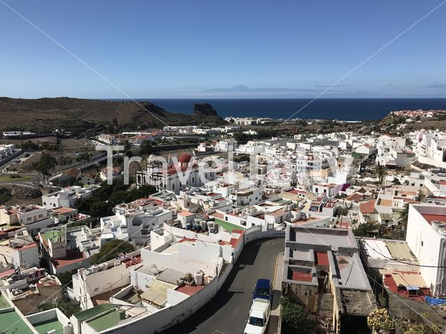 Lookout over Agaete Gran Canaria Canary Islands Spain