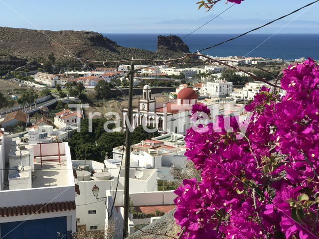 Look out over Gaete Gran Canaria Canary Islands Spain