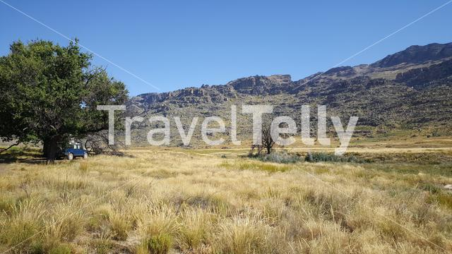 Camping at Cederberg Wilderness Area in South Africa