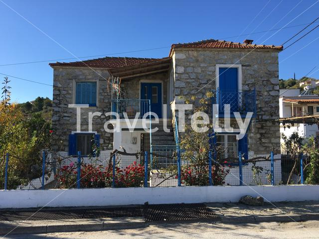 Typical greek house in Achilles Greece