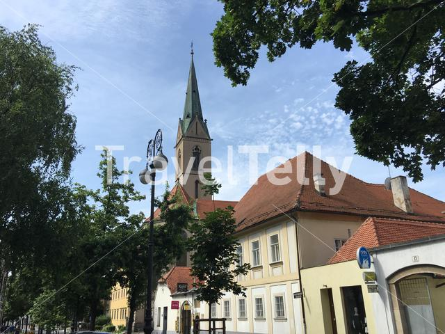 Church of St. Francis of Assisi in Zagreb Croatia