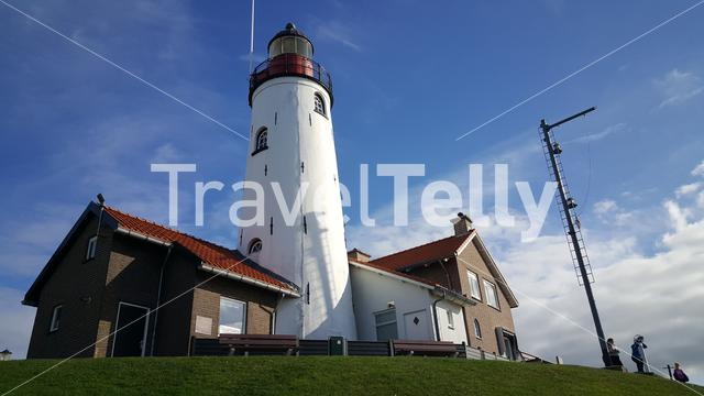 Lighthouse in Urk, the Netherlands