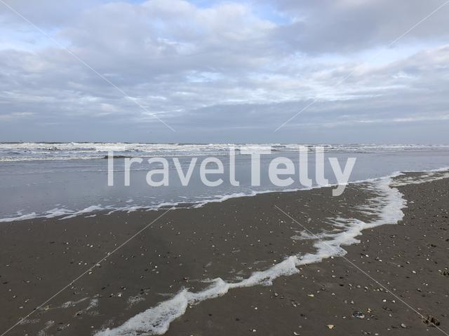 Texel beach in The Netherlands