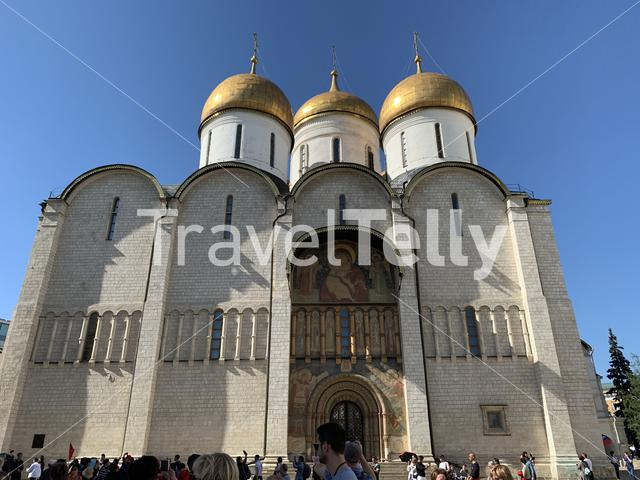 Dormition Cathedral in Moscow, Russia