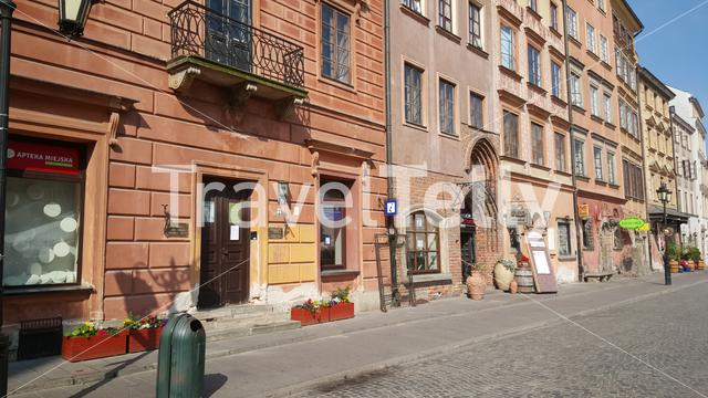 Warsaw's Old Town Market Place is the center and oldest part of the Old Town of Warsaw, capital of Poland