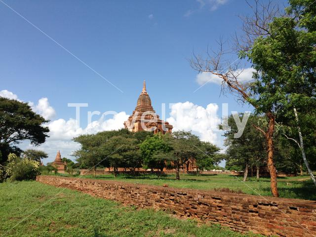 Ywa Haung Gyi temple in Bagan Myanmar