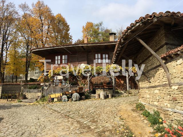 Beautiful old house in the village Zheravna of Bulgaria