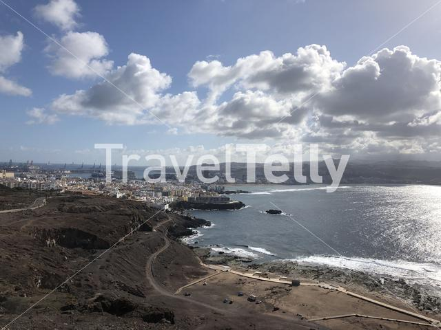 View over Las Palmas, Gran Canaria