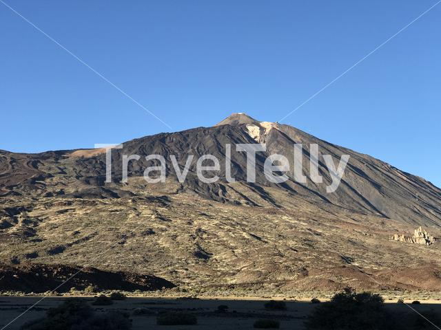 Mount Teide a volcano on Tenerife in the Canary Islands