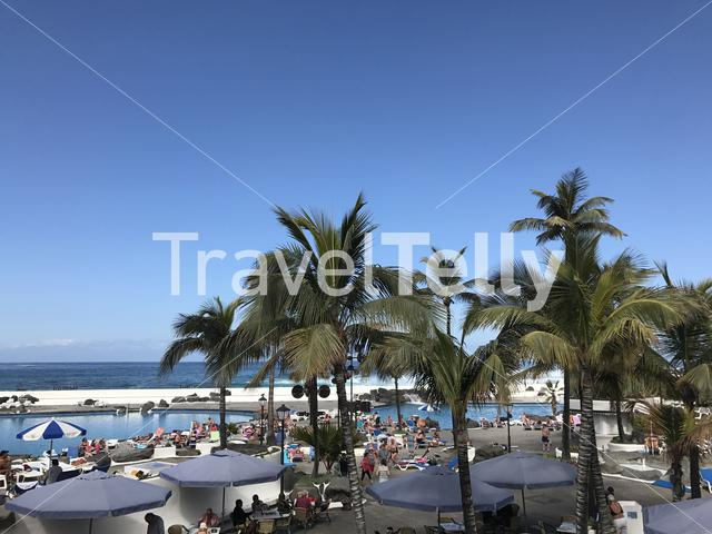 Holiday resort in Puerto de la Cruz Tenerife Canary Islands