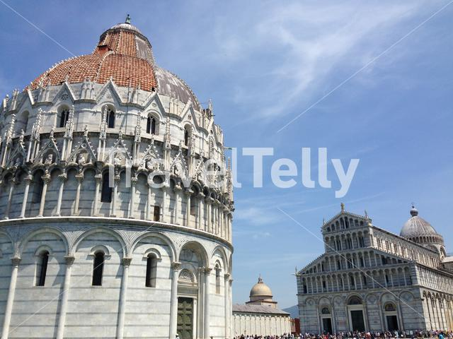 The Pisa Baptistry of St. John is a Roman Catholic ecclesiastical building in Pisa, Italy