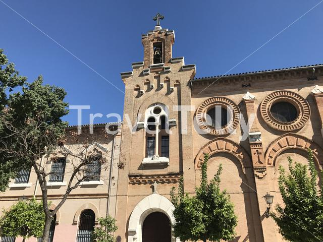 The Monasterio de Salesas in Seville Spain