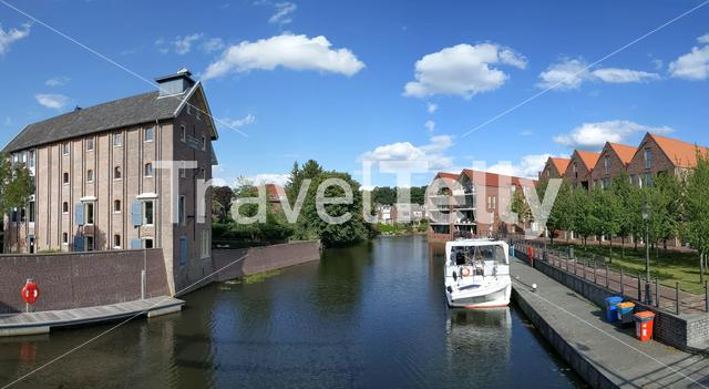 Canal in Coevorden, The Netherlands
