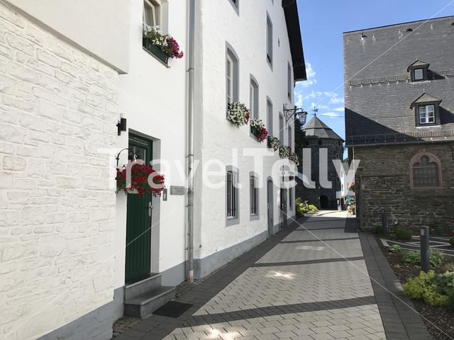 Architecture in Monschau Germany