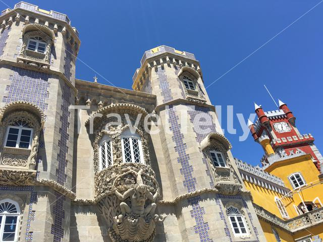 The Pena Palace in Sintra Portugal