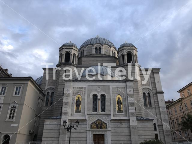 Orthodox Temple of Holy Trinity and Saint Spyridon in Trieste, Italy