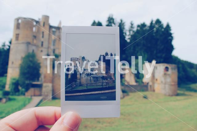 Love to take polaroids of beautiful places like this!