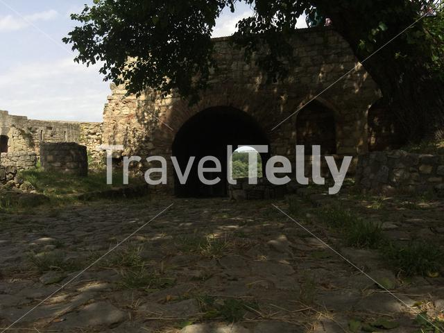 Gate out of the Belgrade Fortress in Belgrade Serbia