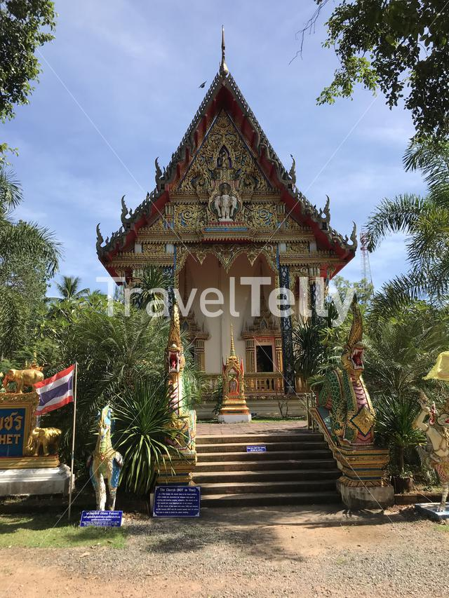 Wat Salak Petch Buddhist Temple in Koh Chang Thailand
