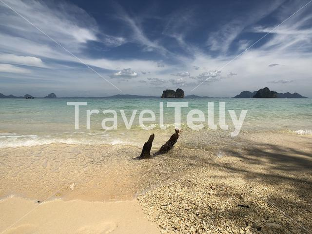 Beach on Koh Ngai in Thailand