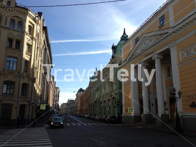 Buildings in Moscow close to the Red Square